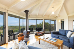 Stringybark lounge and view