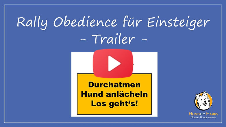 Trailer Rally Obedience online
