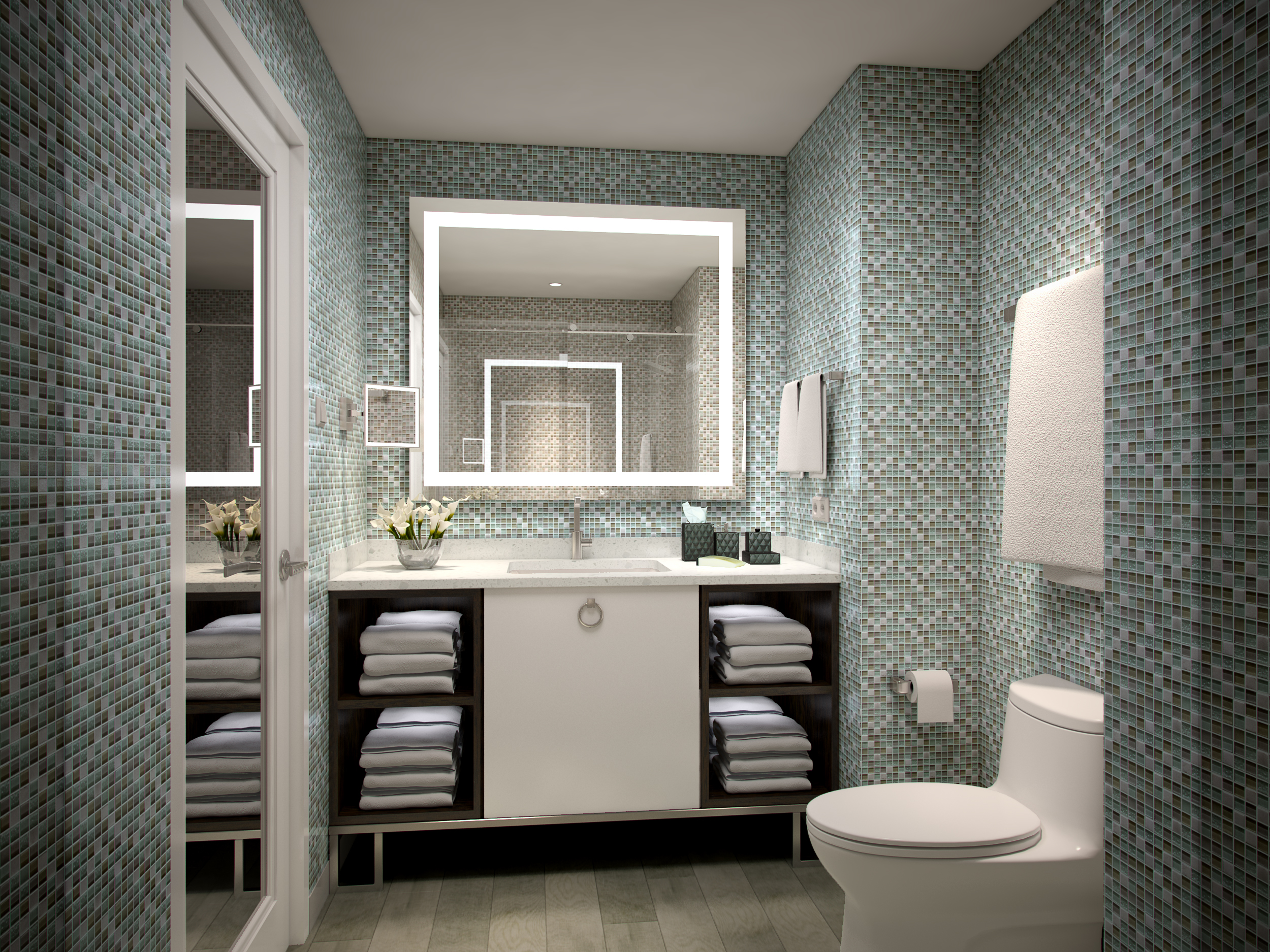 HOTEL ROOM BATHROOM R3