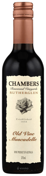 Chambers Rosewood Vineyards Old Vine Muscat