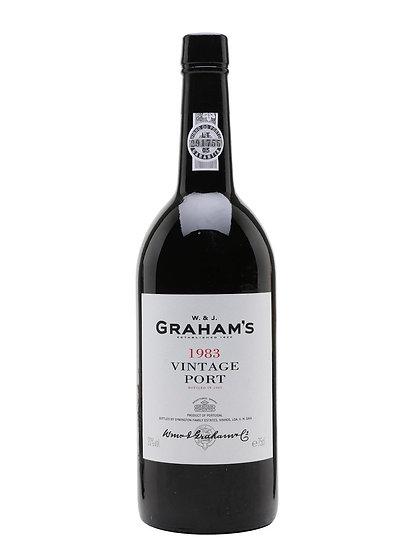 Graham's 1983 Vintage Port