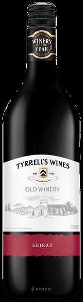 Tyrrells, Old Winery, Shiraz, Hunter Valley