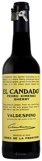 Valdespino El Candado Pedro Ximénez Sherry