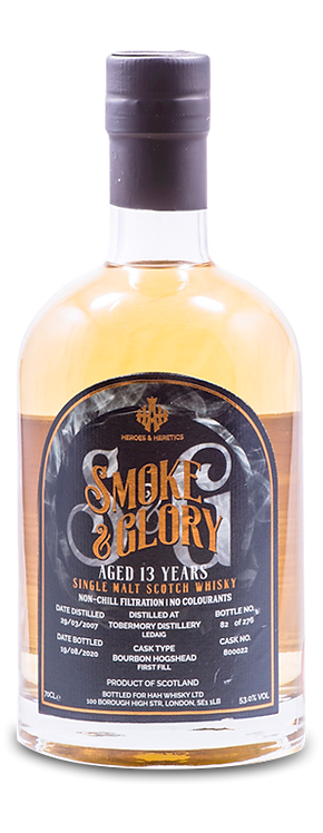 Heroes & Heretics Smoke & Glory Single Malt Scotch Whisky