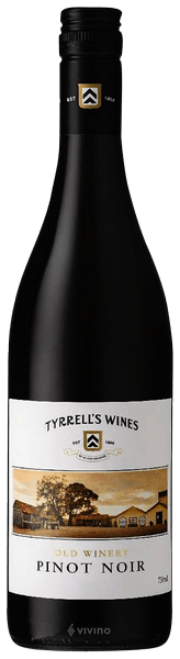 Tyrrell's, Old Winery, Pinot Noir, Hunter Valley