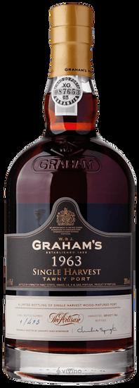 Graham's 1963 Single Harvest Tawny Port