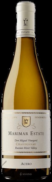 Marimar Estate Don Miguel Vineyard Acero Unoaked Chardonnay