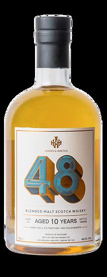 Heroes & Heretics 48 Blended Malt Scotch Whisky