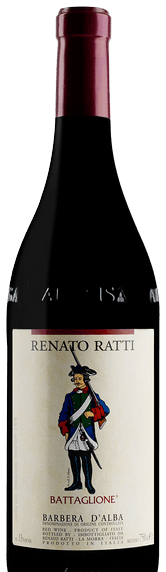 Renato Ratti Barbera, D'Alba, Battaglione