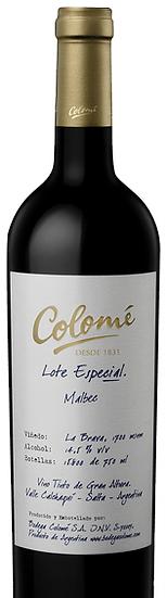 Colomé Lote Especial Malbec, 6 x 75cl