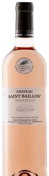 Château Saint Baillon Côtes de Provence Rosé
