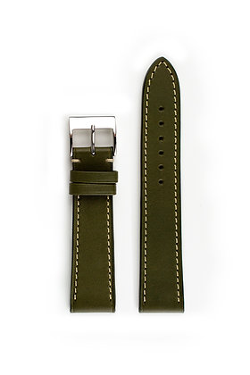 Olive Green French calf