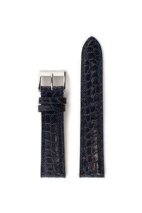 Marine blue mat crocco