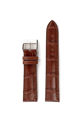 Cognac mat alligator