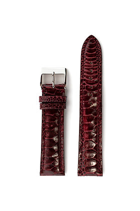 Burgundy glossy rooster foot