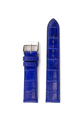 Royal blue mat alligator