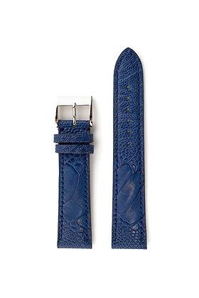 Marine blue mat ostrich foot