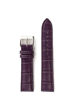 Indigo purple mat alligator