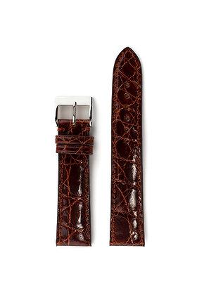 Brown glossy crocco