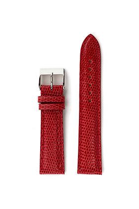 Red glossy lizard