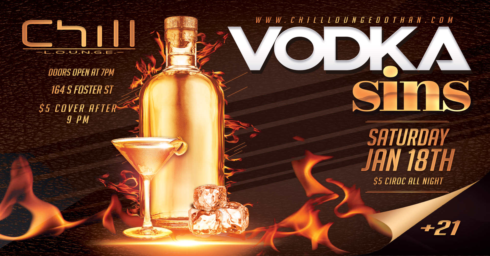 Vodka Sins FB Event