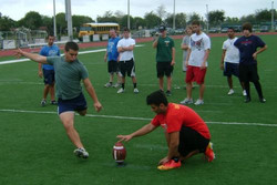 Field Goal and Holding Instruction