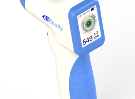 Occuity to unveil new Non-contacting Pachymeter at Optrafair 20/20