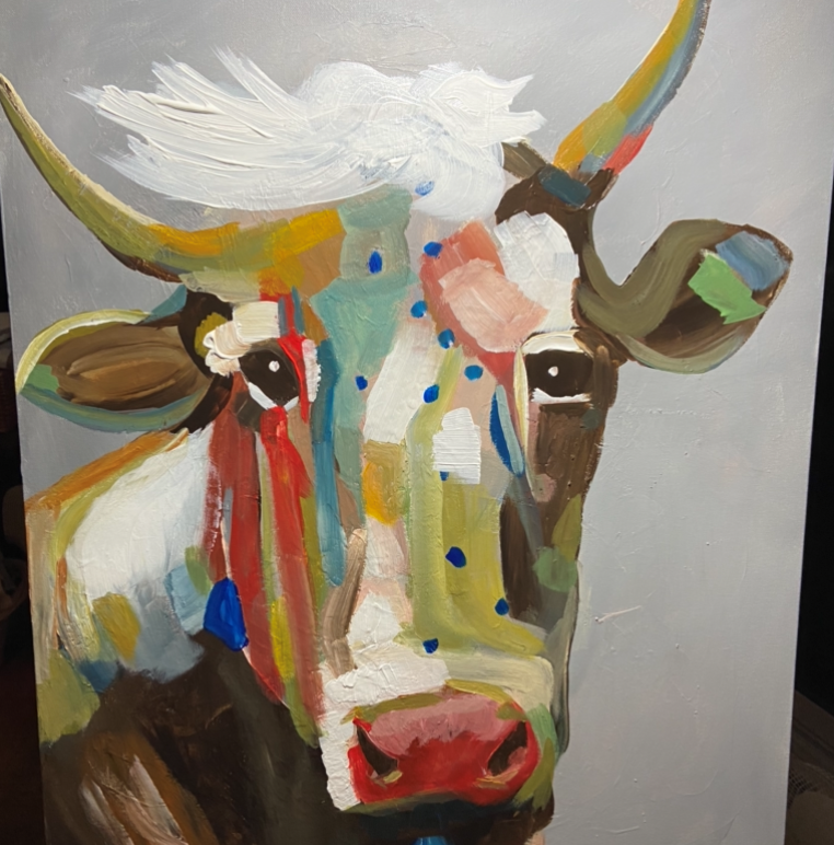 Colourful Cow - Ruth Luyt