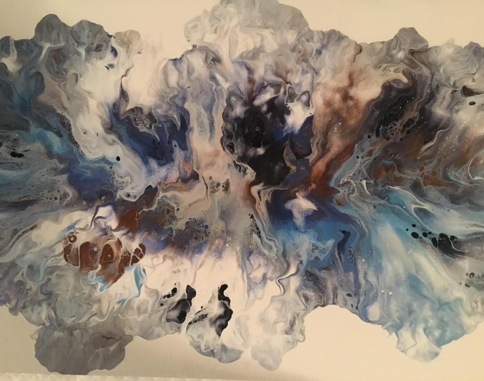 Paint Pour Abstract - Loreen Roy