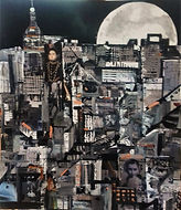 Silver Moon Over New York