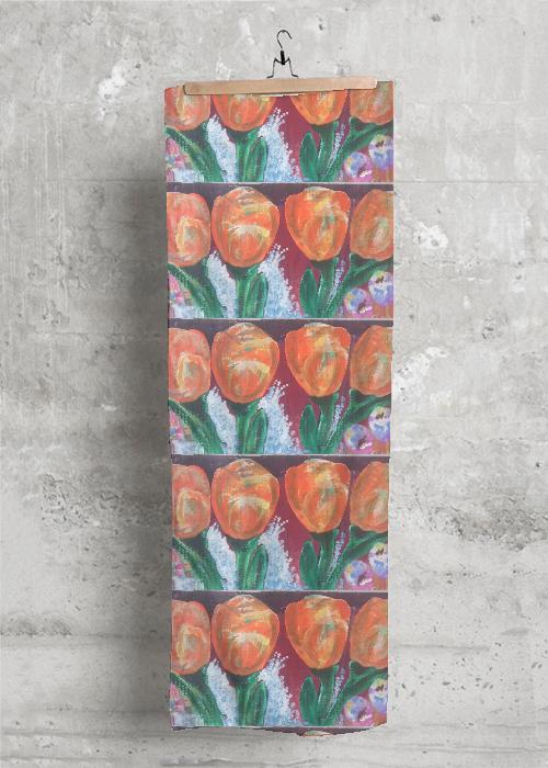 Orange Tulip Wrap