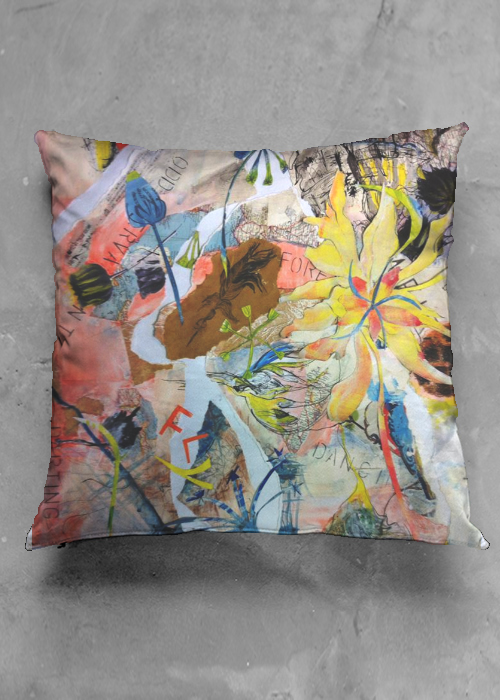 accent pillow luster square