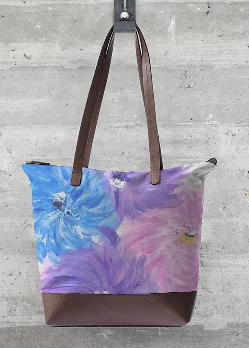 Wild flower statement bag