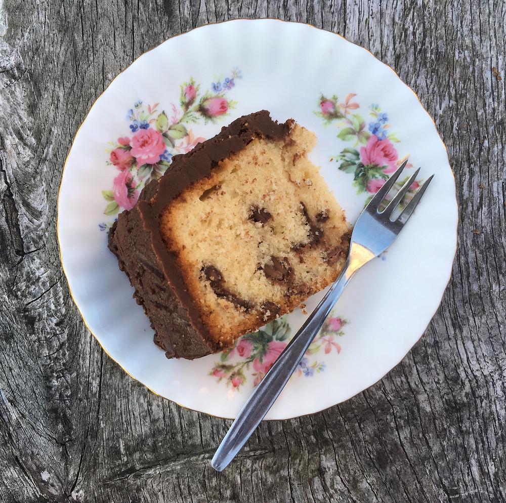 Nanny's Spotty cake