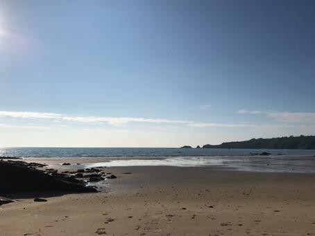 Ssssh, it's all quiet on the beach
