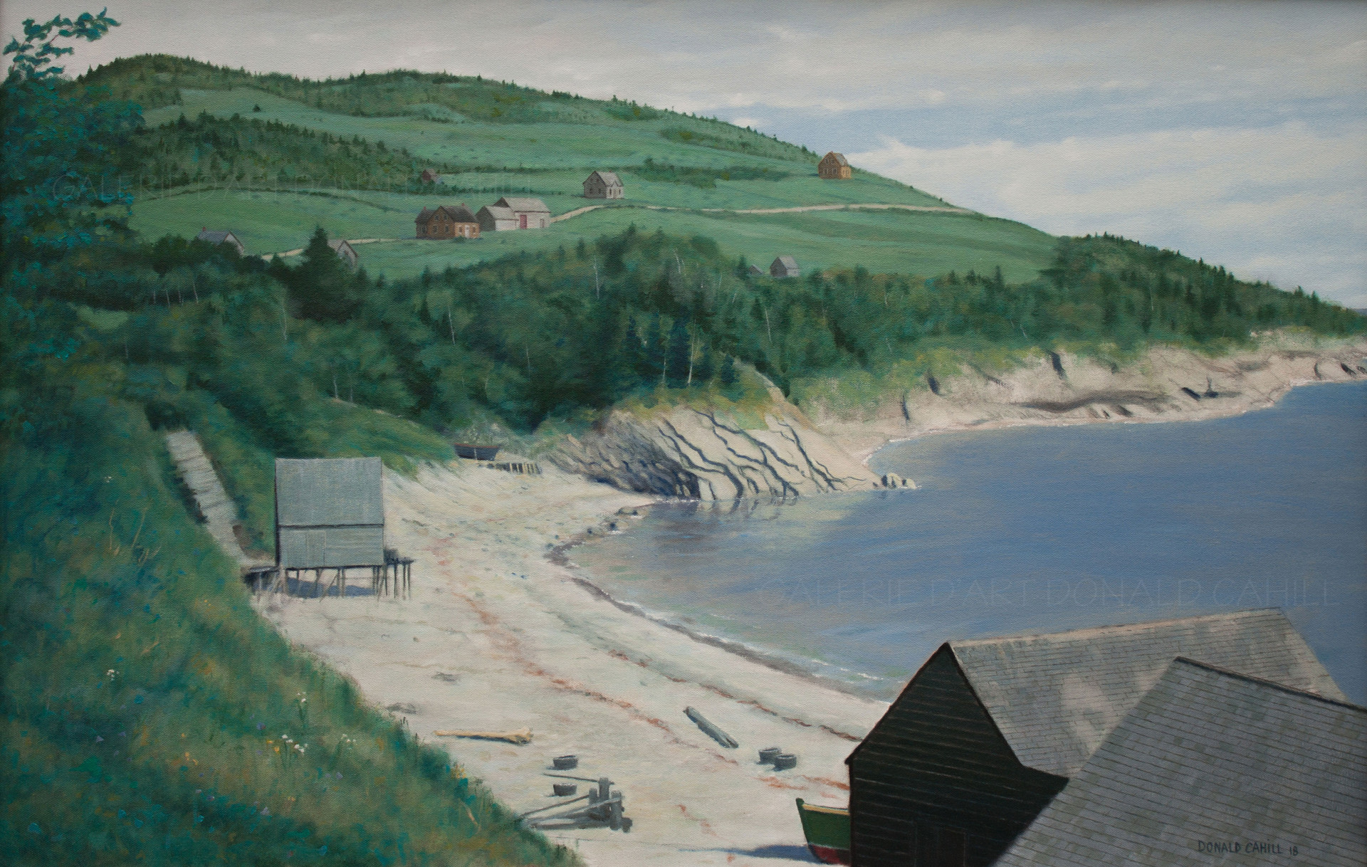 ''Indian Cove, Forillon, 1938''