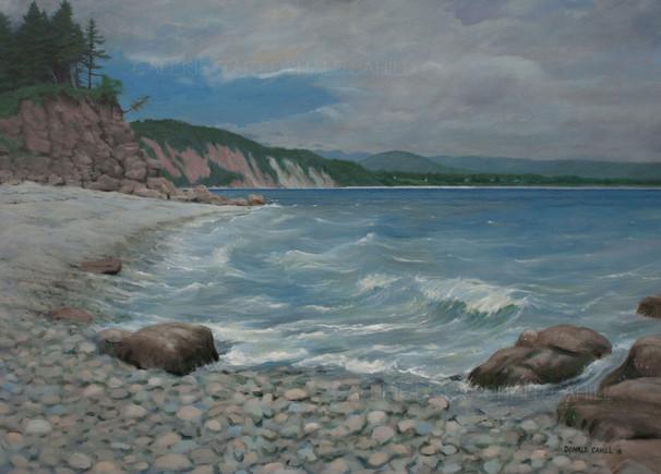 ''Plage de Roches, Gaspésie''