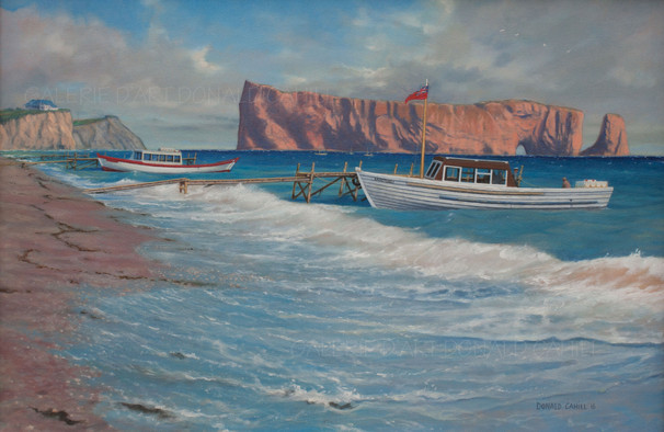 ''L'Anse du Sud, Percé 1953''