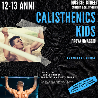 calisthenics kids