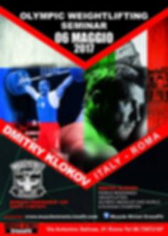 Dmitry Klokov alla Muscle Street CrossFit di Roma