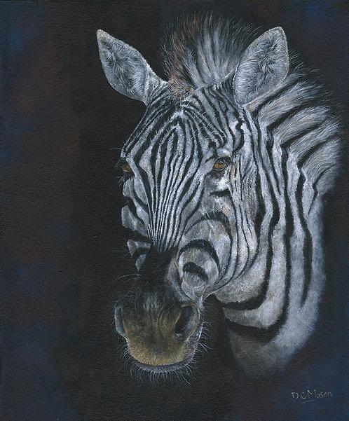 Zebra, original sold