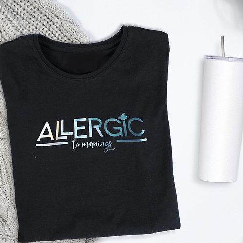 Allergic to Mornings Sweatshirt