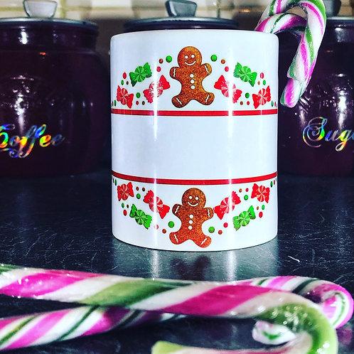Personalised Gingerbread mug