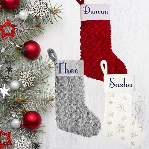 Christmas Eve stockings