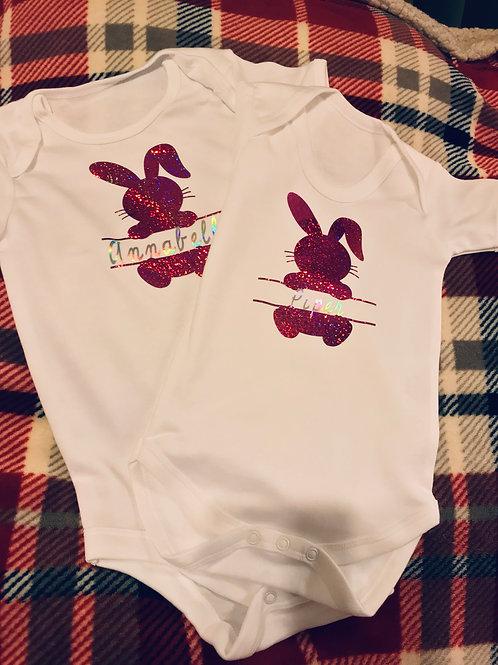 Rabbit Name Babygrow