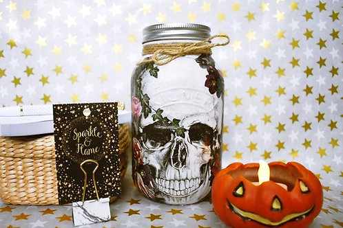 Skull Money Jar