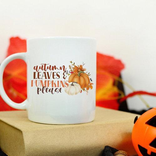 Autumn Leaves 2 mug