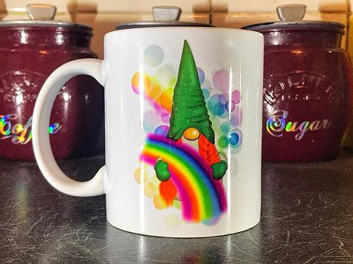 Rainbow Gnome  Mug