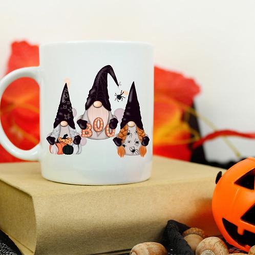 Halloween Gnome Trio mug