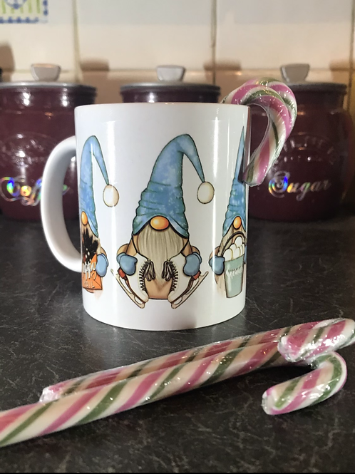 Blue Gnomes 2 Mug